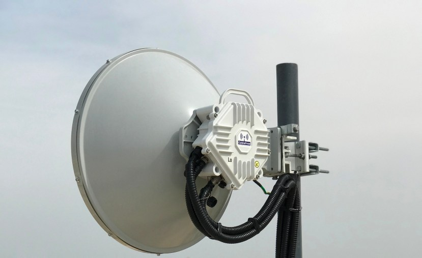 CableFree 10Gbps MMW installed for Safe City Applications
