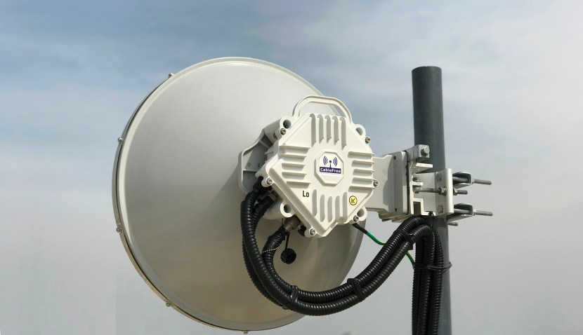 CableFree 10G MMW deployed in the Middle East for Safe City Applications