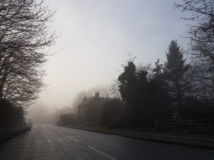 Fog causes dispersive attenuation of Free Space Optics infrared and visible light