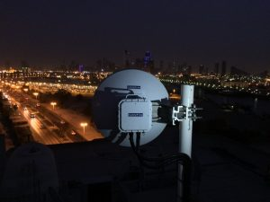 CableFree MMW Link in UAE - Safe City Application