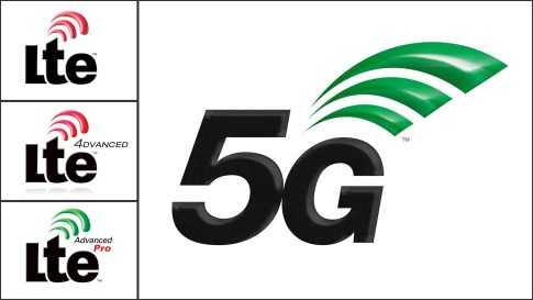3GPP LTE 4G and 5G Logos