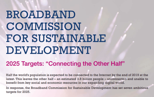 CableFree UN Broadband Commission