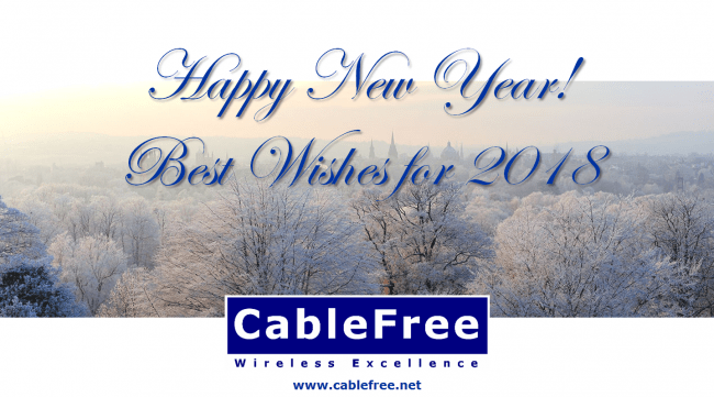 Seasons Greetings from CableFree: Wireless Excellence