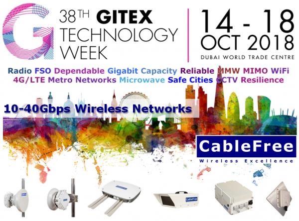 CableFree - GITEX 2018 Dubai