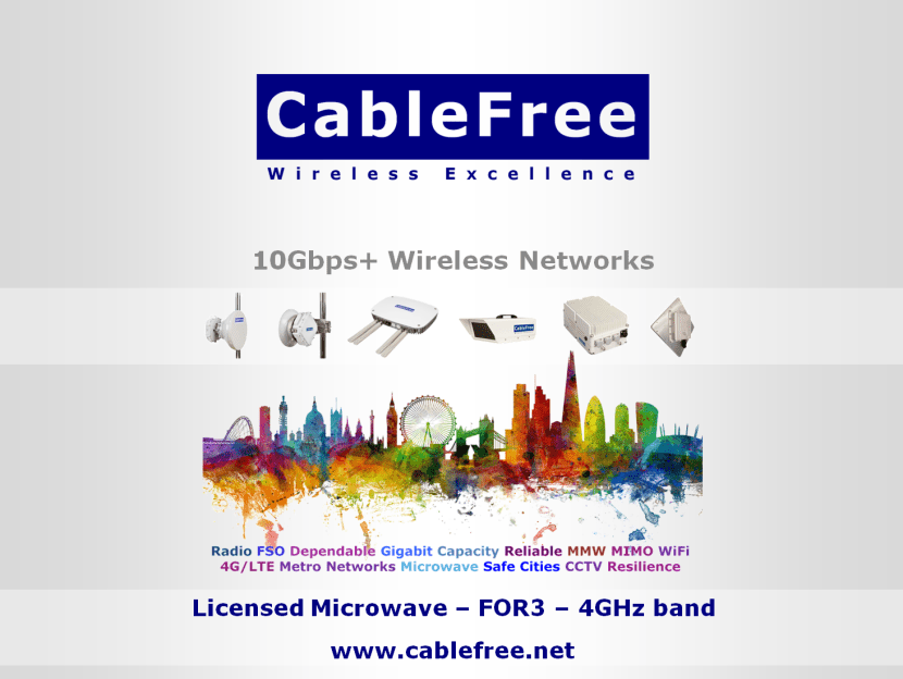 CableFree FOR3 Microwave 4.4GHz Band