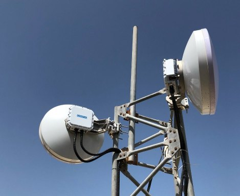 CPRI over CableFree MMW Links for 5G Applications