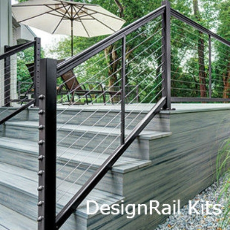 Exterior And Interior Cable Railing Cable Handrail Cable Rail | Outdoor Stair Railings Near Me | Porch Railings | Front Porch | Composite | Metal Stair | Stair Treads