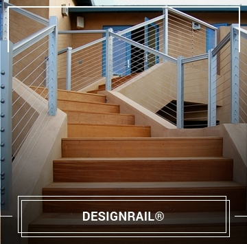 Exterior And Interior Cable Railing Cable Handrail Cable Rail | Wood And Wire Stair Railing | Before And After | Coastal | Natural Wood | Residential | Utility Panel