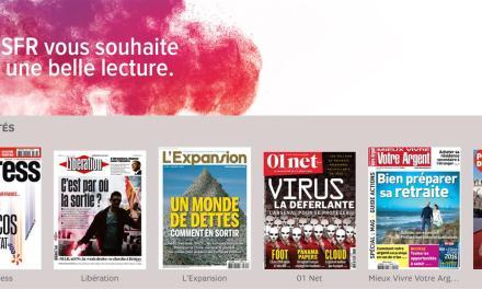 L'Equipe et ses suppléments ont rejoint SFR Presse