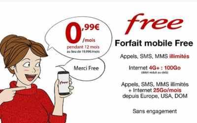 Prolongation : le forfait Free à 0.99€/mois pendant un an sur Vente Privée