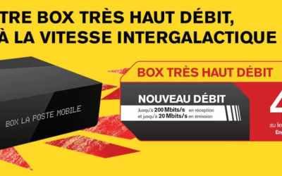 Box Fibre La Poste Mobile : notre avis sur cette offre à partir de 4.99€/mois