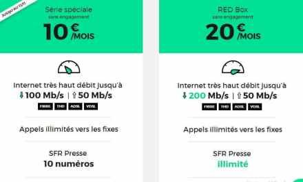 Plus que 2 jours pour profiter de la Red Box à 10€/mois à vie