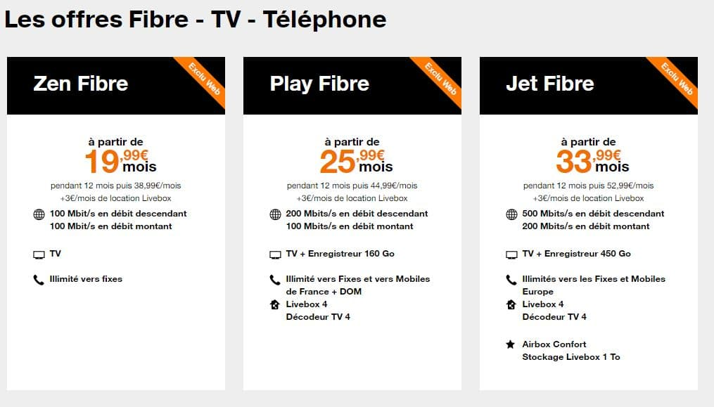orange internet sans engagement toutes les offres adsl et fibre. Black Bedroom Furniture Sets. Home Design Ideas