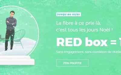Plus que 2 jours pour profiter de la Red box Fibre à 10€/mois