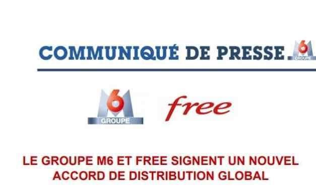 Free signe enfin un accord avec M6