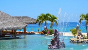 Hotel Palmas de Cortez Pool Fountain