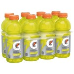 Beverages-Gatorade Thirst Quencher Lemon Lime Sports Drink, 8-pack