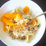 Breakfast In Bed-Oats Based Kits, Banana Mango Oats