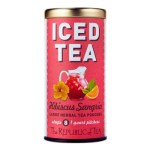 Coffee, Tea & Cocoa-The Republic of Tea Hibiscus Sangria Large Iced Tea Pouches, 8 ct