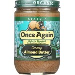 Condiments & Sauces-Once Again Organic Creamy Almond Butter