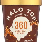 Frozen Desserts-Halo Top Candy Bar Ice Cream 360 Calories