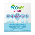 Household Supplies-Ecover Zero Automatic Dishwashing Tablets 25 Tablets