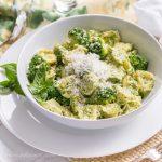 Easy Dinners-Lemon Pesto Tortelini with Broccoli