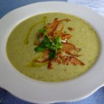 Lunch on the Go-Tomatillo Corn Soup