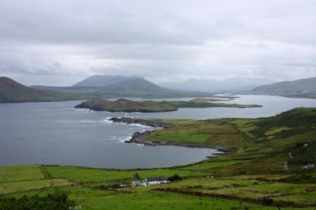 Imaxe dende a Illa de Valentia, no Condado de Kerry. Irlanda