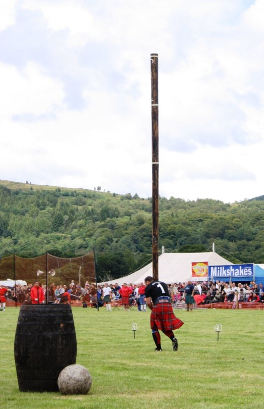 Highland Games en Callender