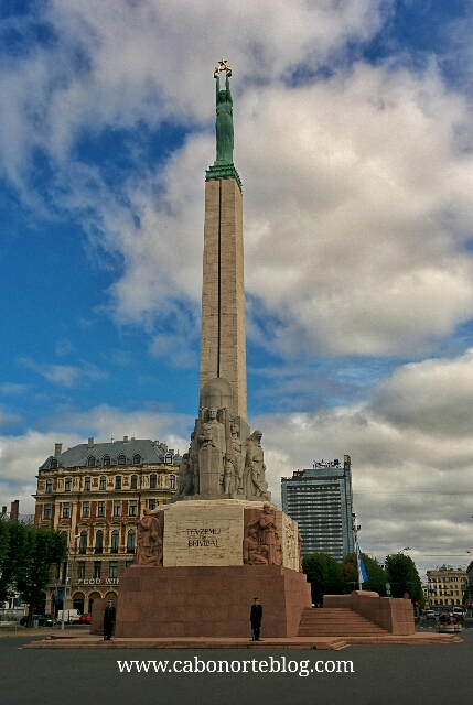Monumento a la Libertad de Riga