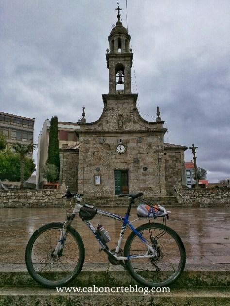 camino de santiago, camino sanabrés, silleda, bici