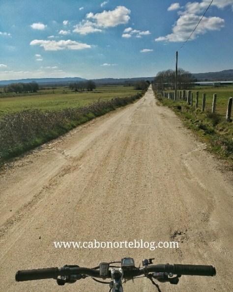 camino de santiago, camino sanabrés, llanura, bici, ourense