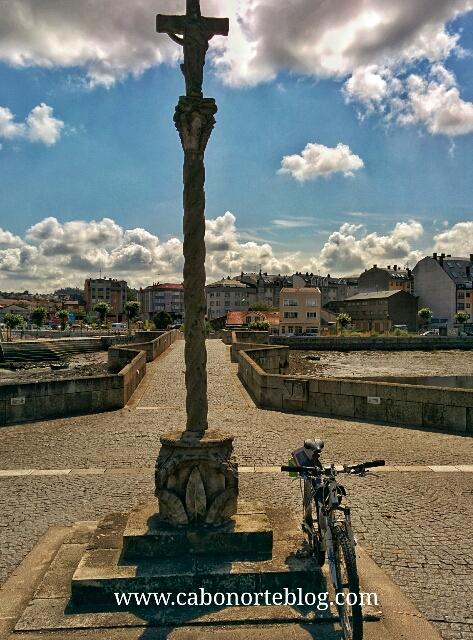 O Burgo, camino ingles, cruceiro, bici, bicigrino