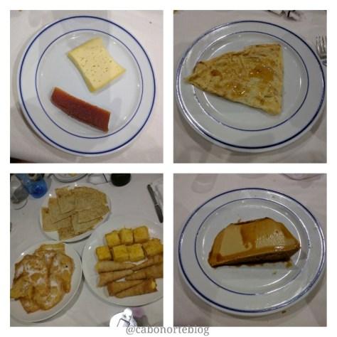 Sobremesas tradicionais do cocido