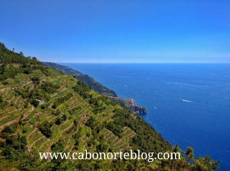 Costa de las Cinque Terre, Italia
