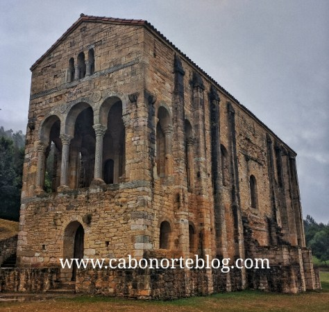 Iglesia prerrománica del Naranco, Asturias