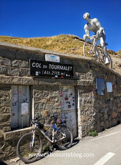En lo alto del Tourmalet