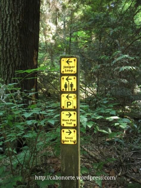 Rutas señalizadas en Vancouver, Canadá