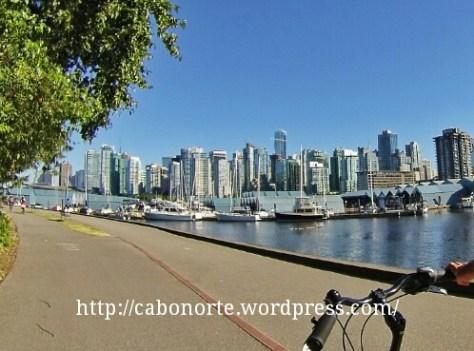 En bici por Vancouver