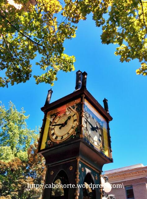 Reloj de vapor de Gastown