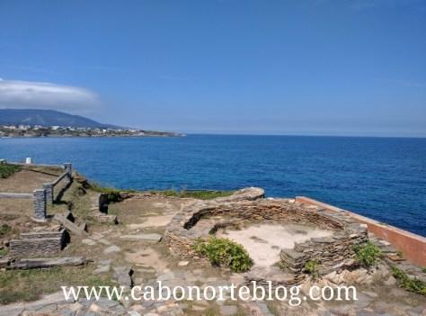 Castro junto al mar en Fazouro