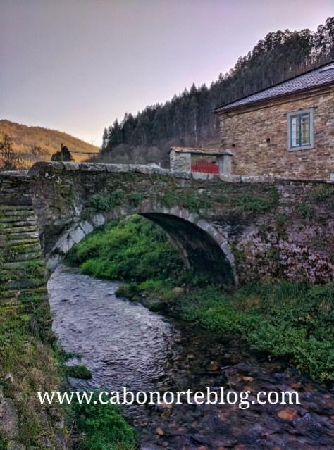 Ponte do Pasatempo en Mondoñedo