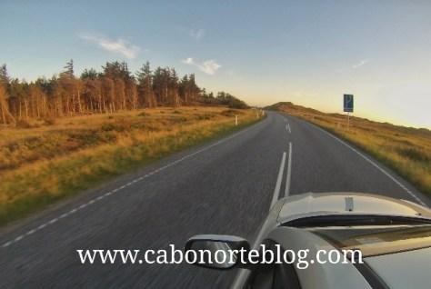 Carretera en Dinamarca