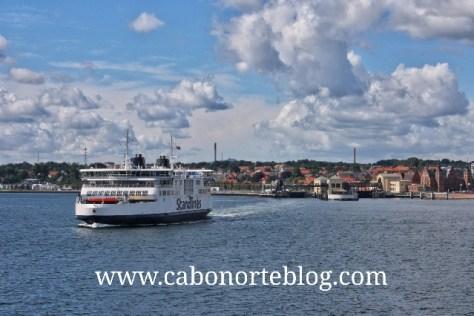 Ferry entre Dinamarca y Suecia