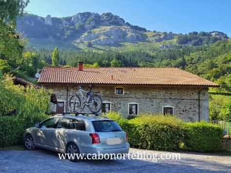 Casa rural donde pasamos unos días en el interior de Euskadi