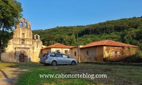 Monasterio de Santa María la Real de Obona (Asturias)
