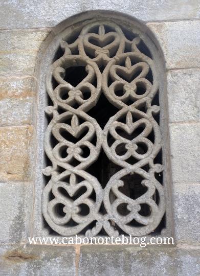Celosía en la Iglesia de San Salvador de Valdediós