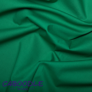 Emerald Green 100% Cotton Poplin Fabric