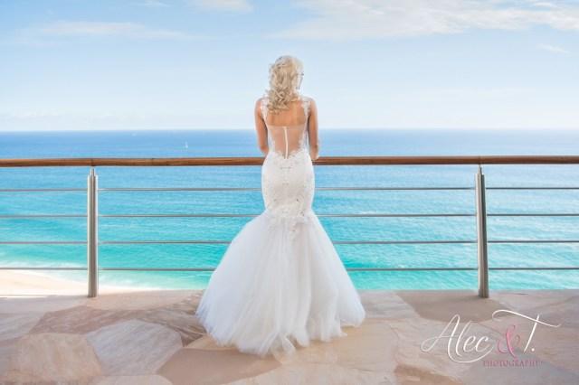 Mariage à destination de luxe à Cabo San Lucas au Mexique avec location de vacances privée Villa Bellissima surplombant l'océan Pacifique